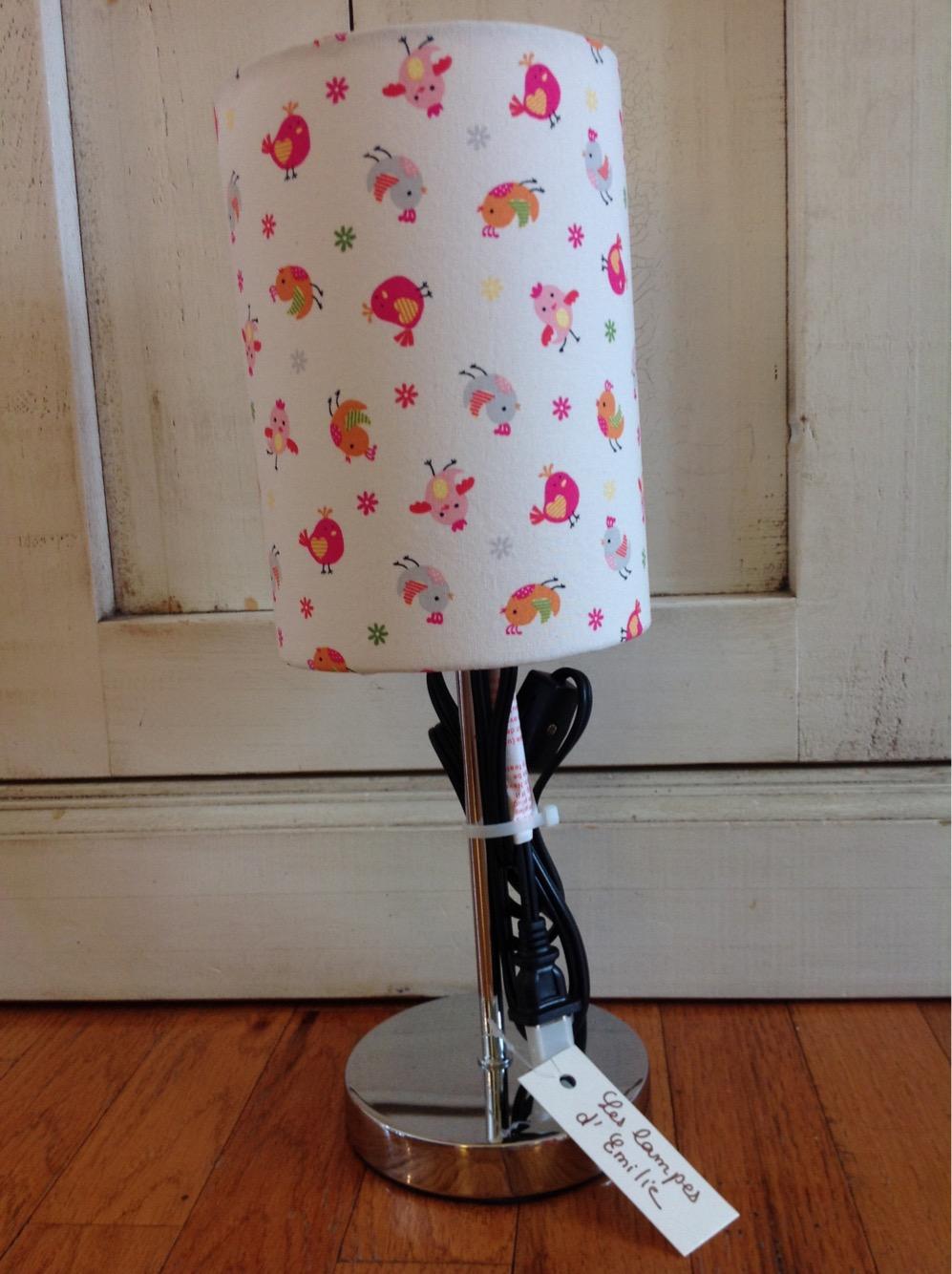 Oiseaux Kids Lampe – Les RosePink Pour Lamp Lampes Enfants Birds OiXZuPk