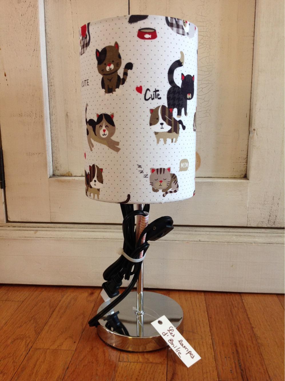 Lamp Pour Enfants Kitten Kids Lampe – Chat Les ''cute''Cute 08nwkOXNP